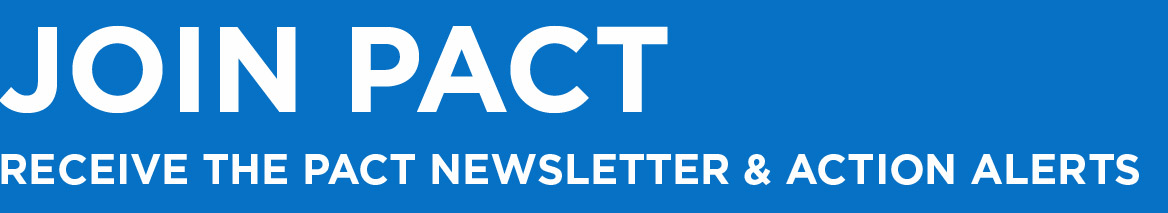 Join PACT - Receive the PACT Newsletter